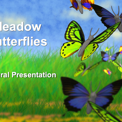 Royalty-free Nature PowerPoint Templates